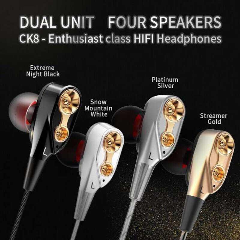 QKZ หูฟังแบบ In-Ear รุ่น CK8