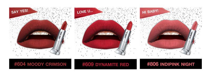 01 Maybelline Lip Set Color Sensational Love Note 3.9 g x3