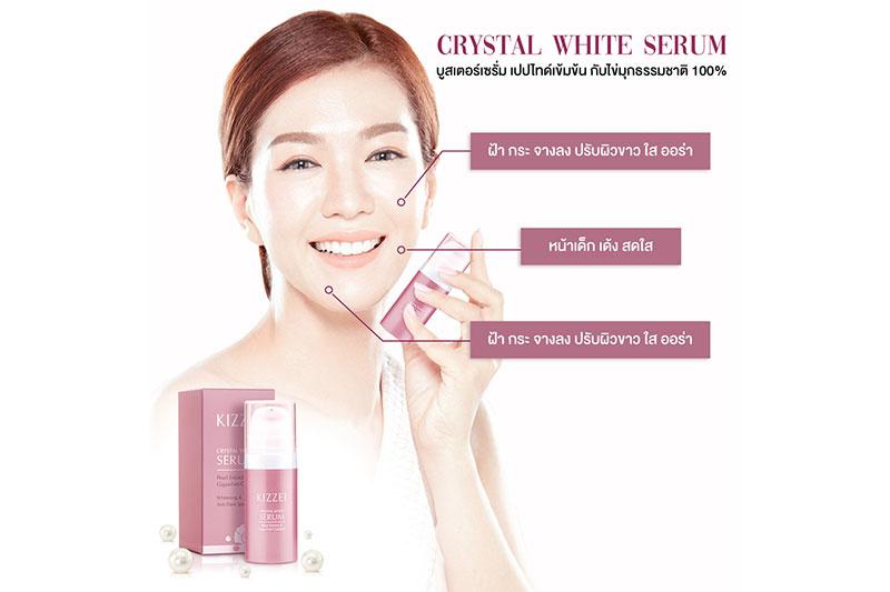 06 Kizzei Crystal White Serum 10 ml