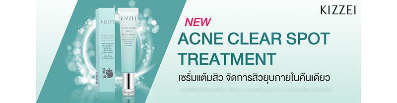 01 Kizzei Acne Clear Spot Treatment 12 ml