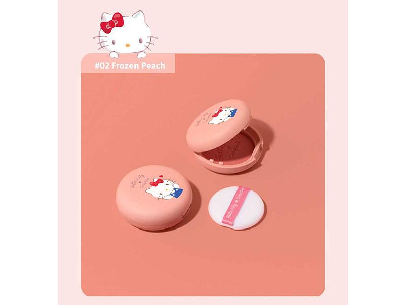 04 Cathy Doll บลัชออน Hello Kitty Cotton Shine Blusher 6.5 กรัม