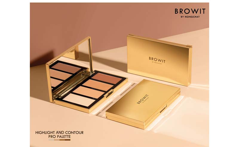 04 Browit Highlight and Contour Pro Palette 3.5 g x 4 Colors