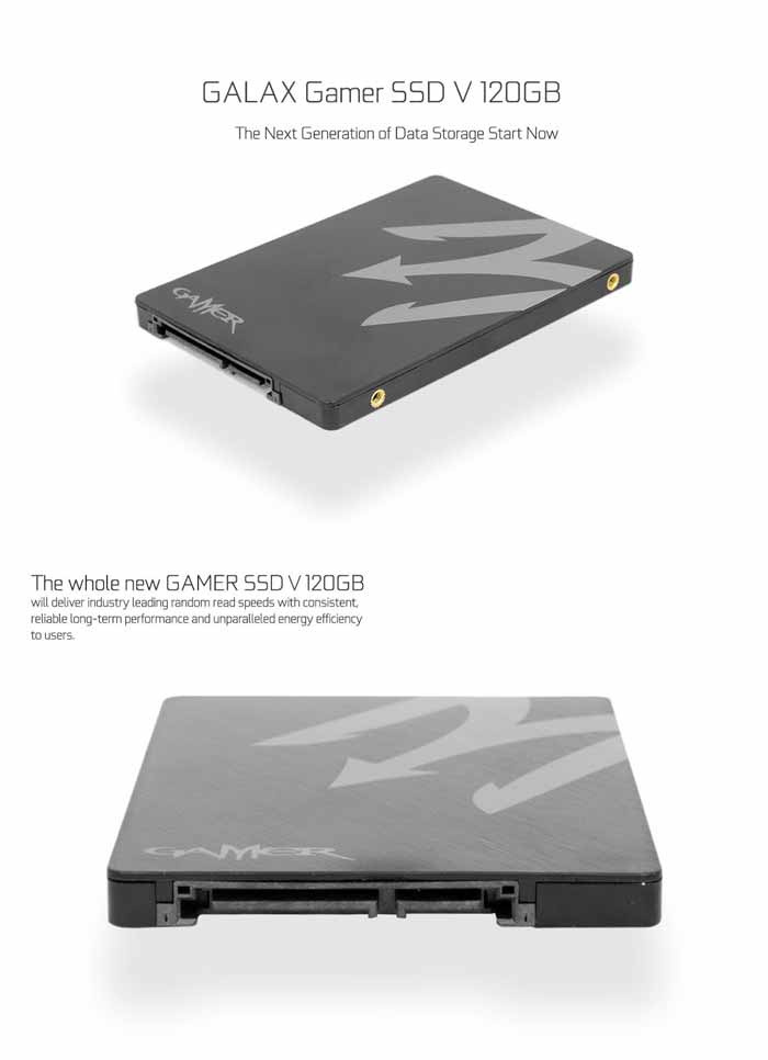 GALAX SSD รุ่น GAMER V 120 GB