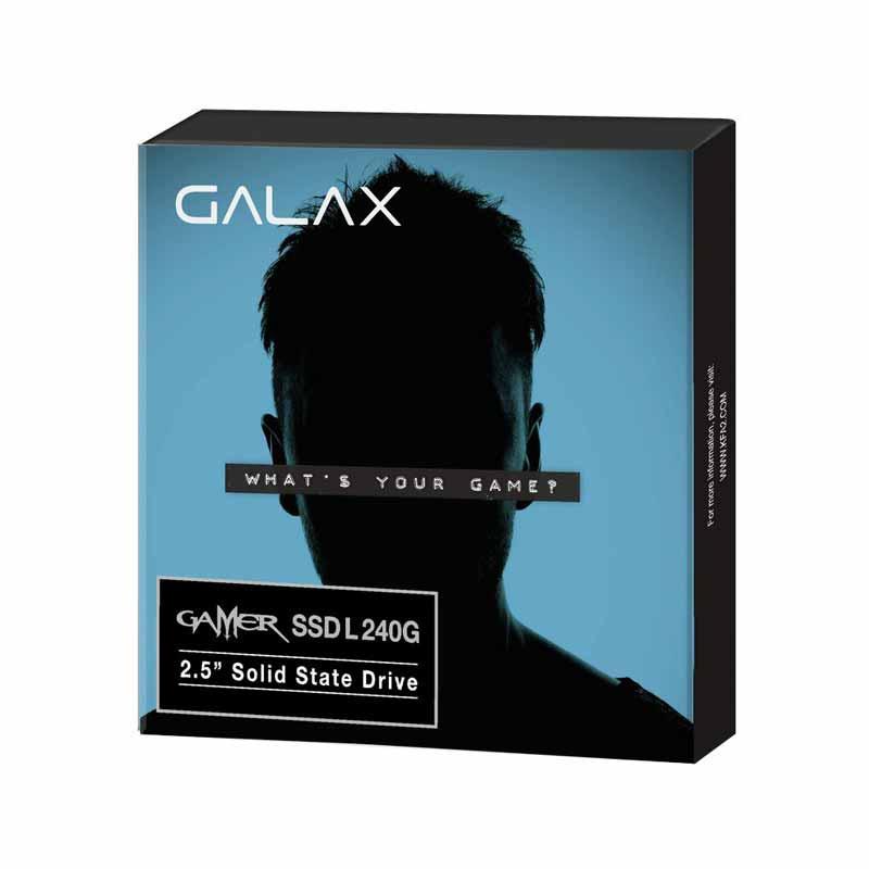 GALAX SSD รุ่น GAMER L SATA III/6Gbps 240 GB