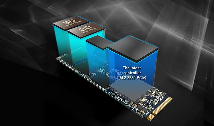 ADDLINK SSD รุ่น S68 M.2 PCIe 256 GB