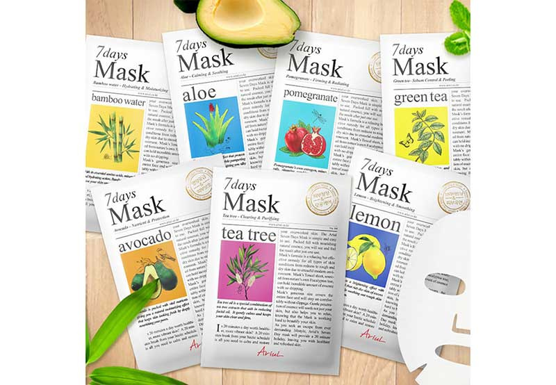 01 Ariul 7 Days Mask Lemon (Pack2)