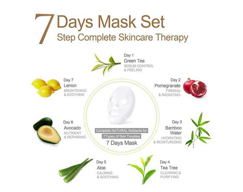 03 Ariul 7 Days Mask Lemon (Pack2)