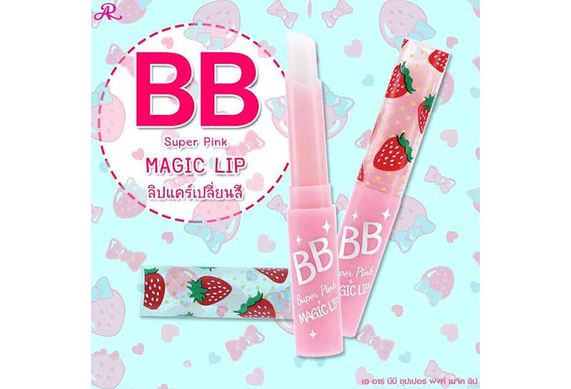 02 AR BB Super Pink Magic Lip 1.5 g
