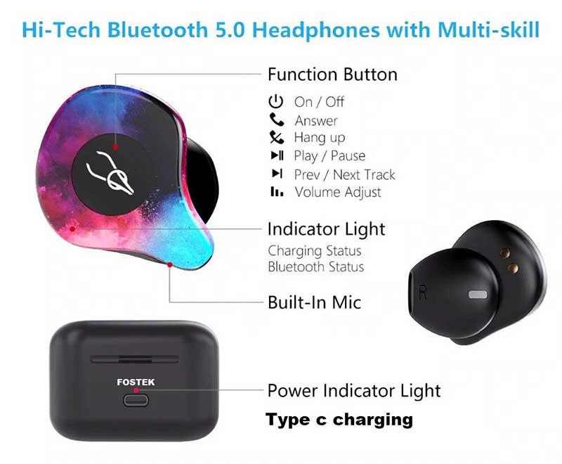 Sabbat หูฟังบลูทูธแบบ True Wireless รุ่น X12 Pro