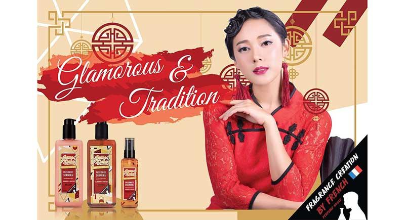 01 Jomedoba Passionate Shanghai Fragrance Mist 30 ml (Pack2)
