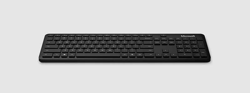 Microsoft คีย์บอร์ดบลูทูธ Black -THAI  (ไทย - อังกฤษ Keyboard)