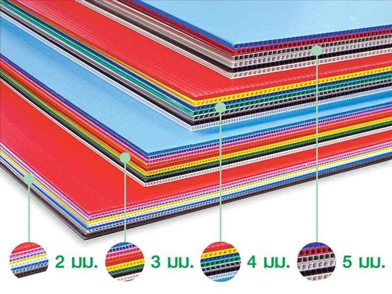 PANKO แผ่นฟิวเจอร์บอร์ด 65x49 ซม. หนา 2 มม. สีใส 01