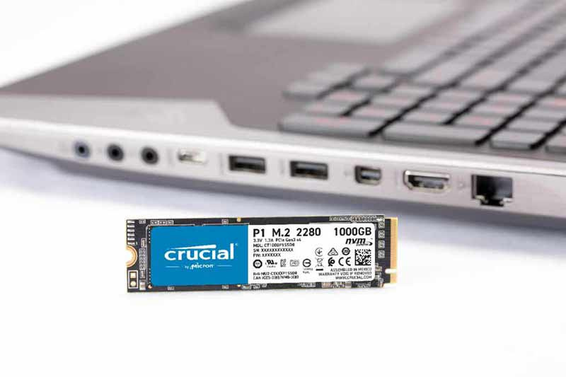Crucial SSD BX500 3D NAND SATA 2.5 2 TB
