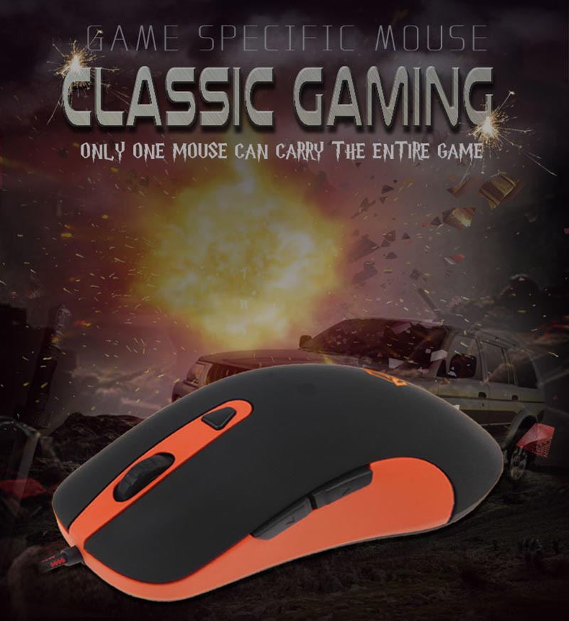 Meetion เม้าส์เกม Classic Gaming Mouse GM30