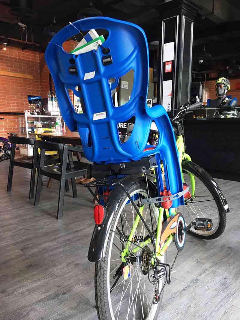 เบลเลลลี่ ที่นั่งเด็กติดตะแกรงหลังจักรยาน