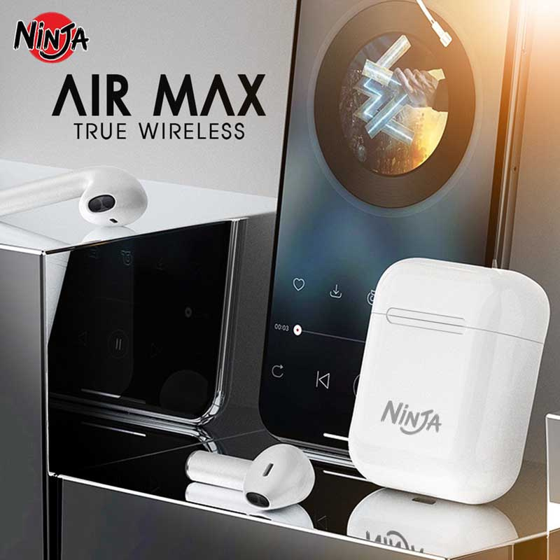 Ninja หูฟังบลูทูธแบบ True Wireless รุ่น Air Max