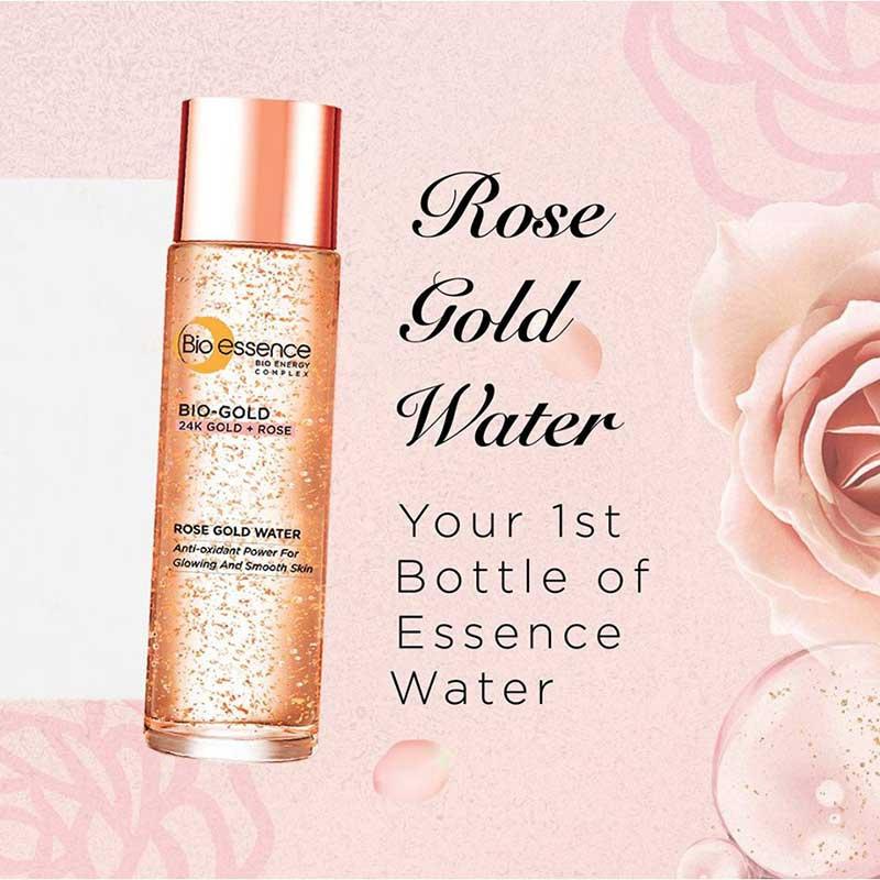 01 Bio essence เอสเซ้นซ์ Bio-Gold Rose Gold Water 30 มล.