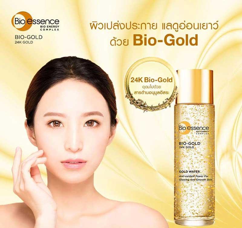 01 Bio essence เอสเซ้นซ์ Bio-Gold Gold Water 30 มล.
