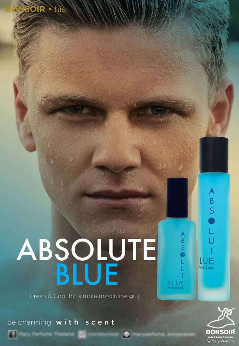 01 BONSOIR ABSOLUTE BLUE 55 ml