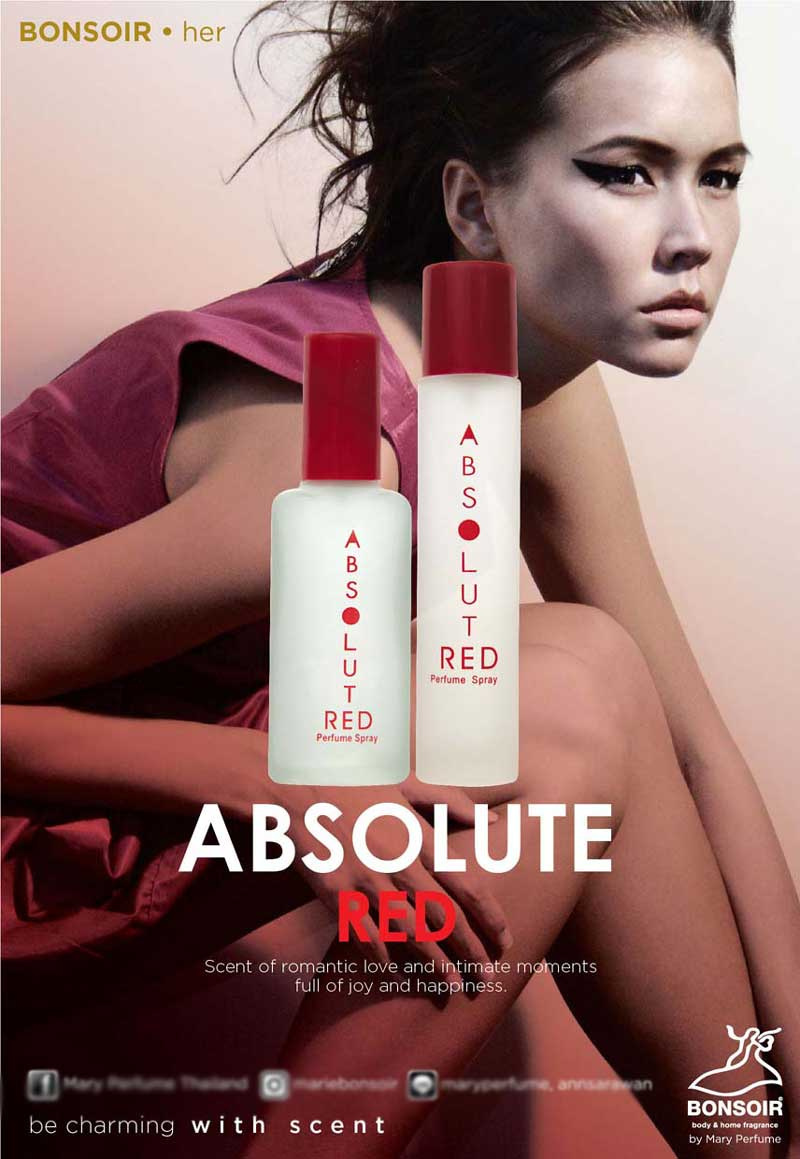01 BONSOIR ABSOLUTE RED 55 ml