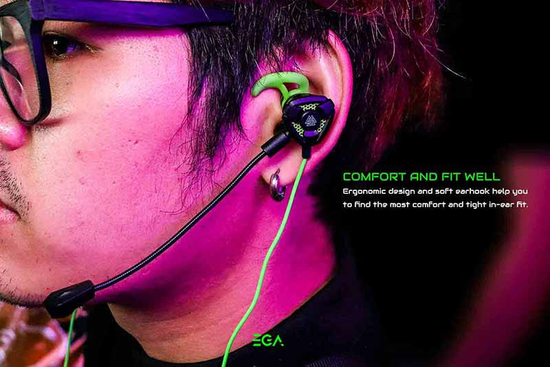 EGA หูฟังเกม TYPE-E1
