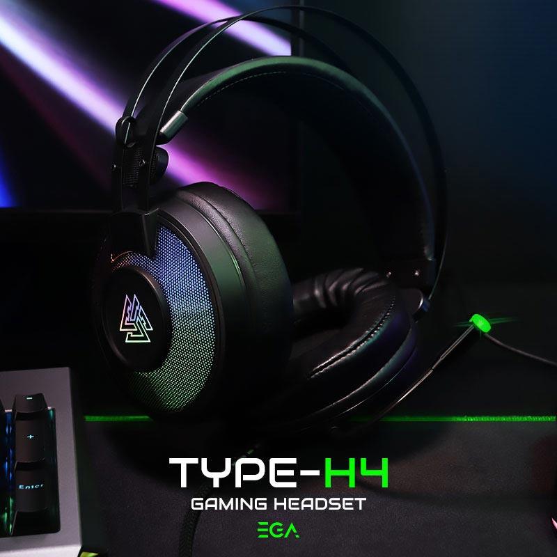 EGA หูฟังเกม TYPE-H4