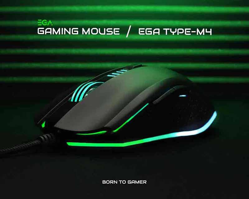 EGA เม้าส์เกม Type-M4