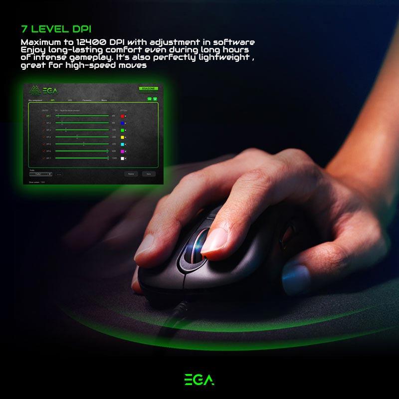 EGA เม้าส์เกม Type-M2