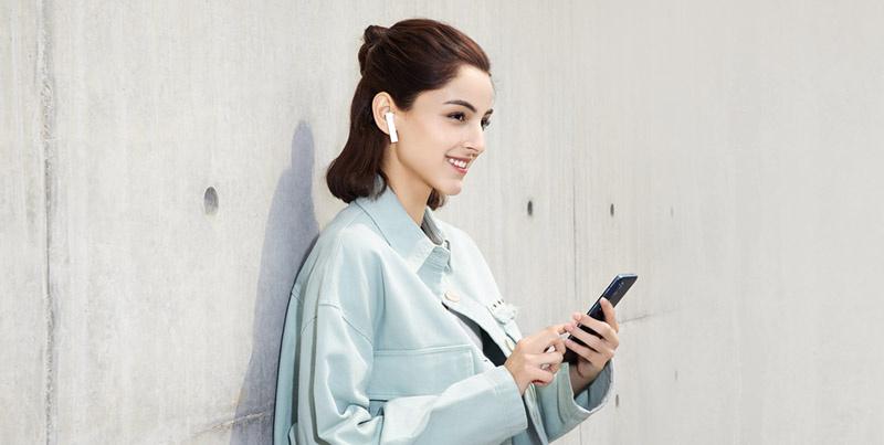 Xiaomi หูฟังบลูทูธแบบ True Wireless รุ่น Mi True Wireless Earphones 2 Basic