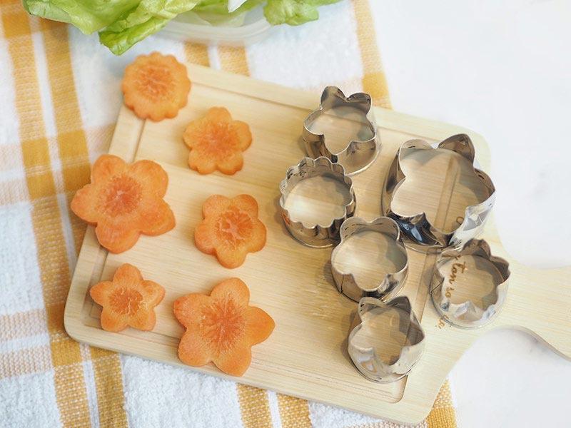 Kohbec แม่พิมพ์สำหรับผัก (เล็ก) (2 ชิ้น)