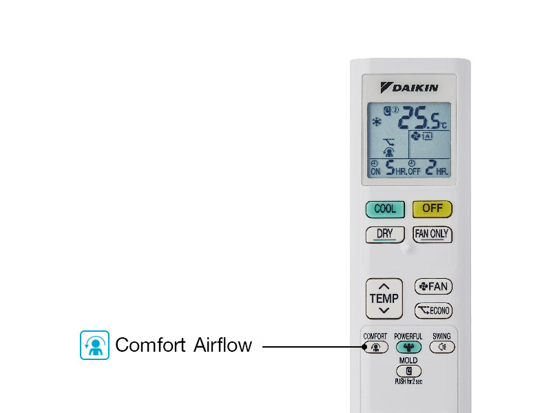 DAIKIN เครื่องปรับอากาศ Sabai Plus Inverter รุ่น FTKQ09UV2S