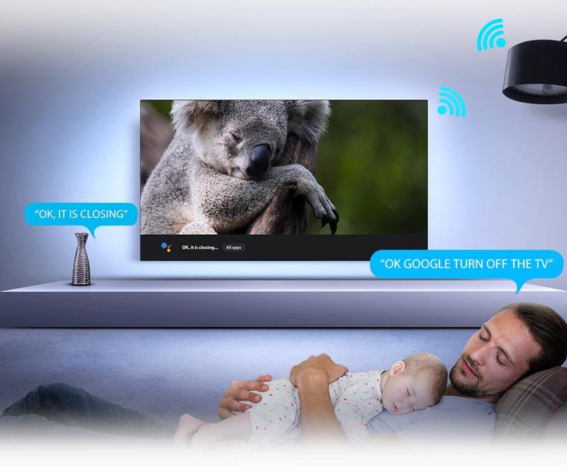 TCL 4K QLED Android 9.0 Smart TV ขนาด 55 นิ้ว รุ่น 55C715