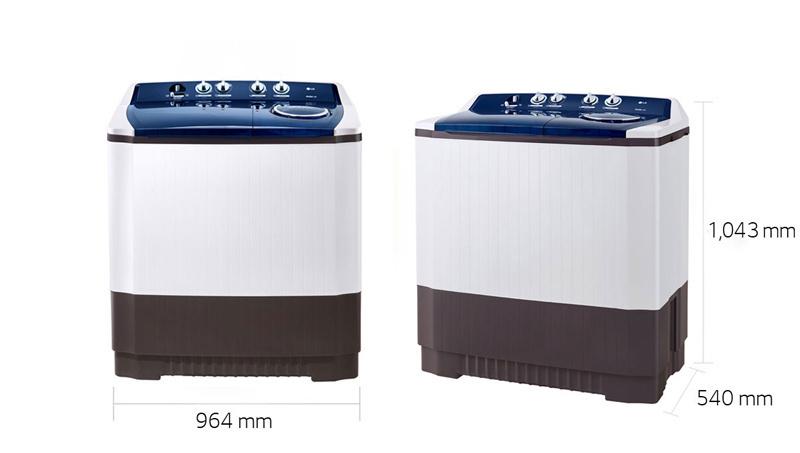 LG เครื่องซักผ้า 2 ถัง