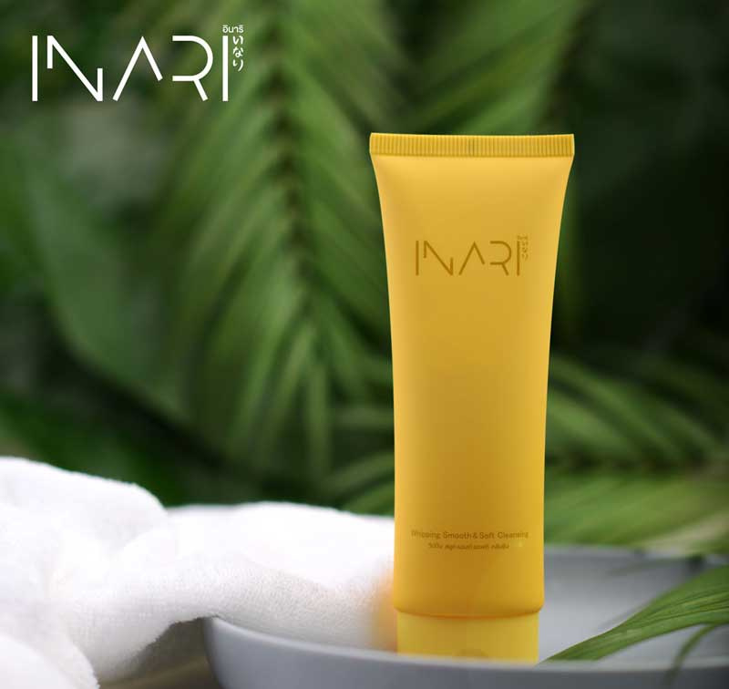 01 INARI คลีนซิ่ง Whiping Smooth&Soft Cleansing 100 มล.