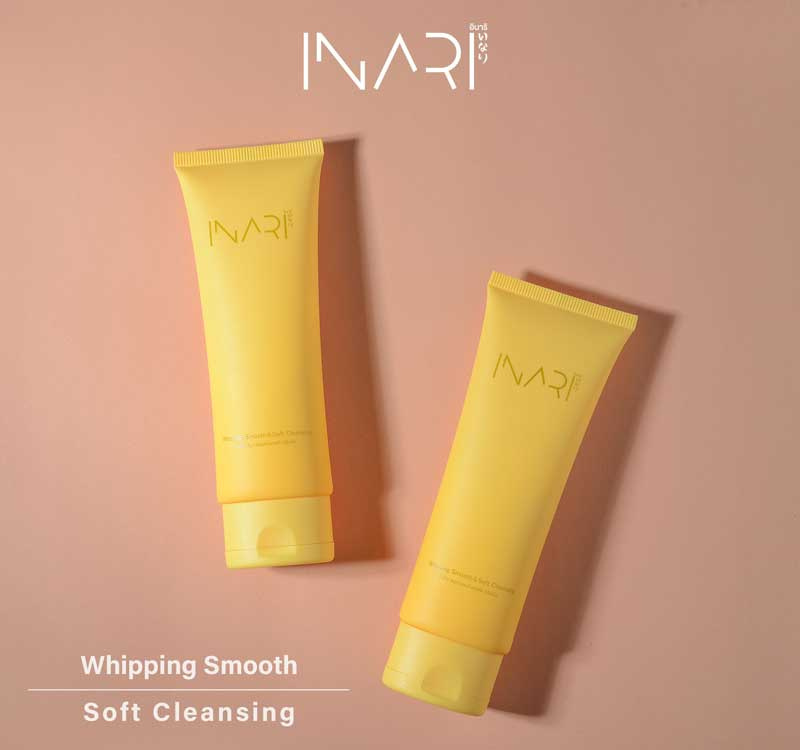 03 INARI คลีนซิ่ง Whiping Smooth&Soft Cleansing 100 มล.