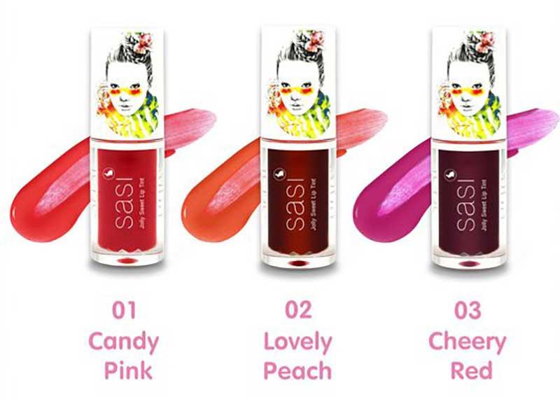 01 SASI Jolly Sweet Lip Tint #03 Cheery Red