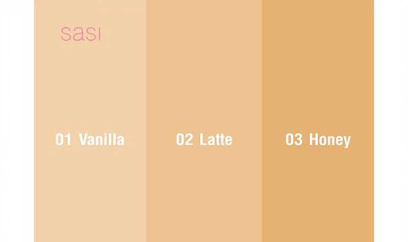 01 sasi MOUSSE MELLOW Foundation Powder #02 Latte 8.5 g