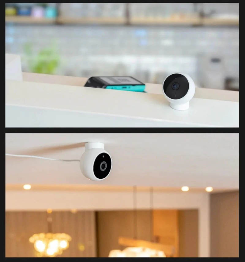 Xiaomi กล้องวงจรปิด IP Camera 1080P Magnetic Mount