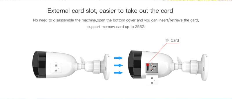 Vstarcam กล้องวงจรปิด IP Camera รุ่น CS55