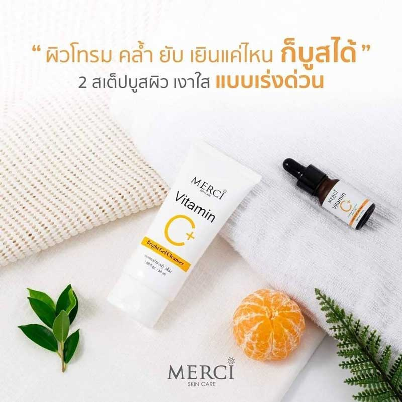 04 Merci Vitamin C Bright Gel Cleanser 50 ml