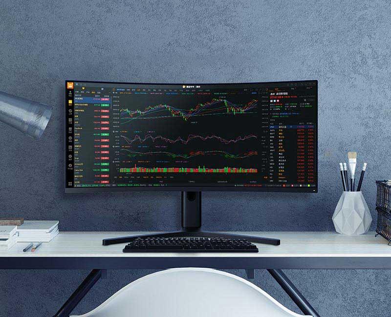 Xiaomi Mi จอคอมพิวเตอร์ Curved Gaming Monitor 34 Inc