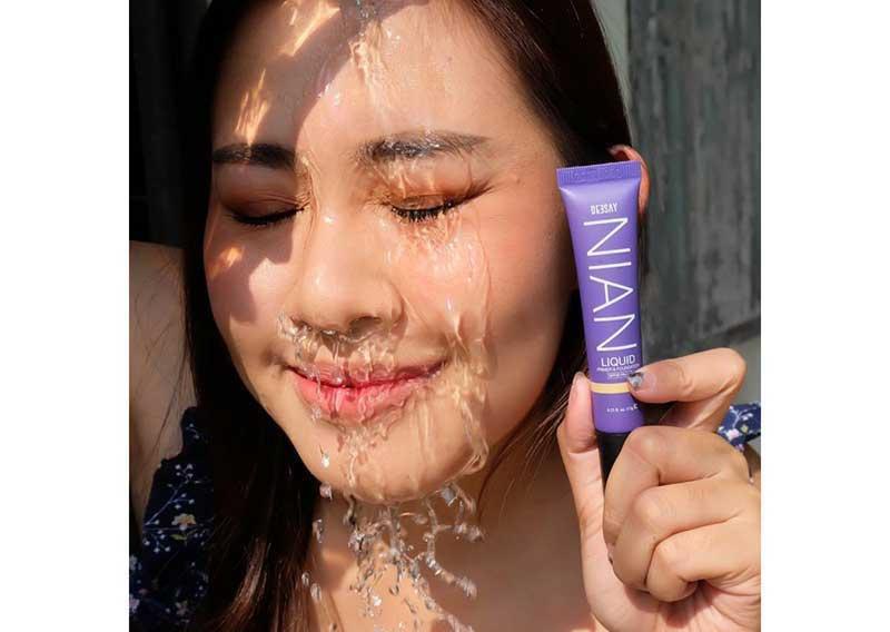 05 Deesay Nian Liquid Primer & Foundation No.3 Honey Free alcohol spray 50 ml