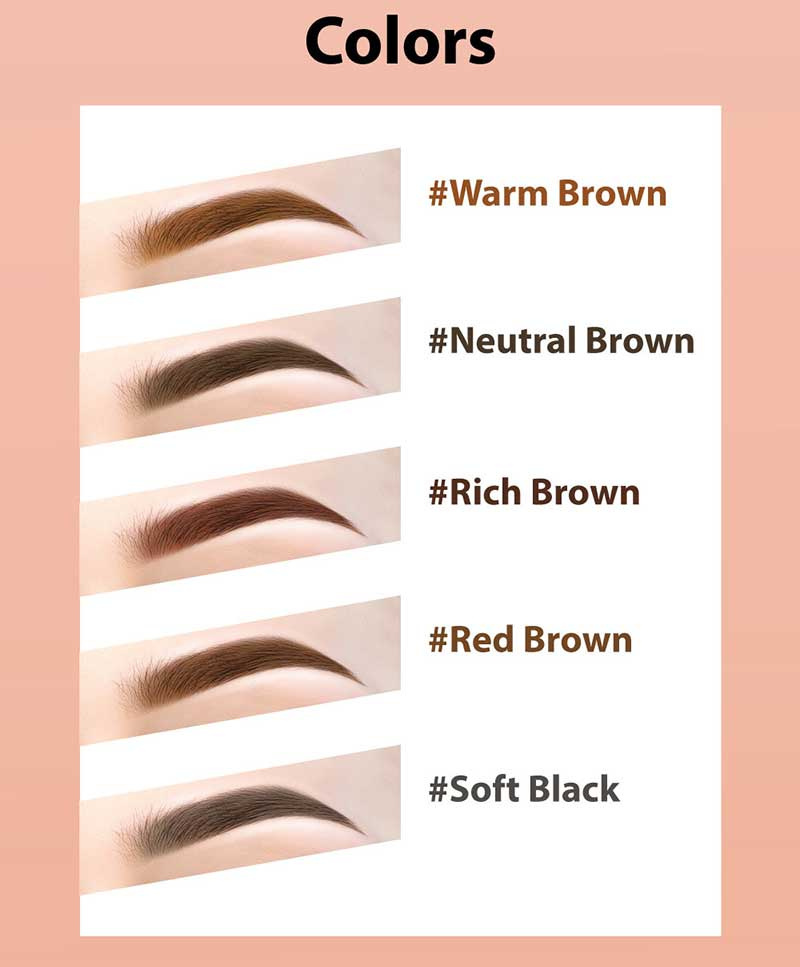 05 Browit Perfectly Defined Brow Pencil & Concealer #Red Brown