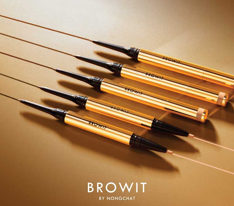 07 Browit Perfectly Defined Brow Pencil & Concealer #Soft Black