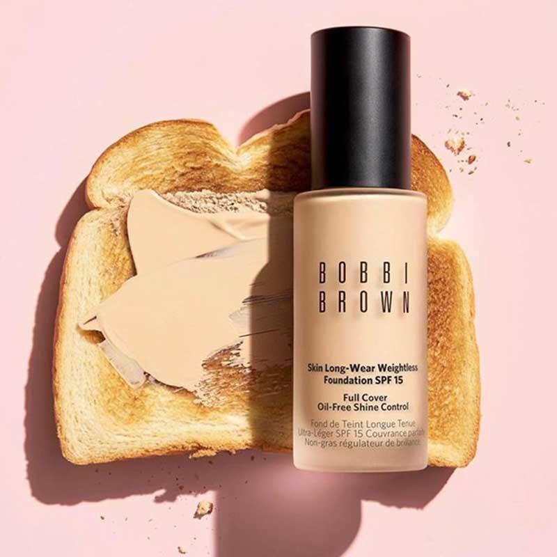 01 Bobbi Brown Skin Long Wear Weightless Foundation SPF15PA++ 30 ml #N-036 Warm Sand