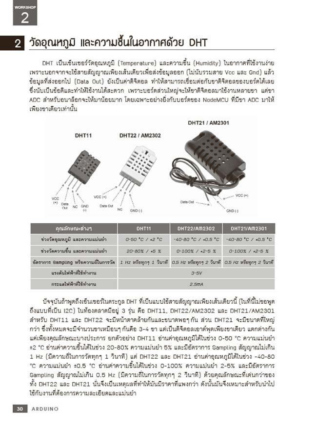 หนังสือ IoT Workshop ด้วย Arduino 03
