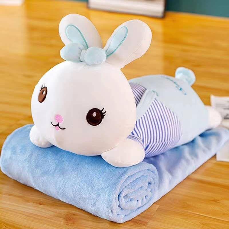 หมอนผ้าห่มตุ๊กตานุ่มนิ่ม