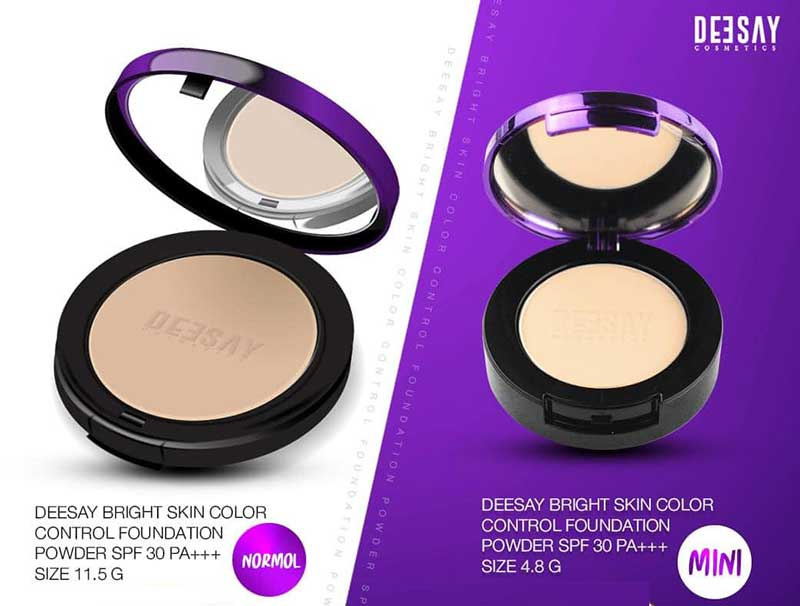 04 Deesay Bright Skin Color control Foundation powder + Liquid Primer & Foundation