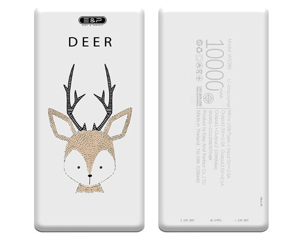 E&P Power Bank P10 Deer / 10,000mAh