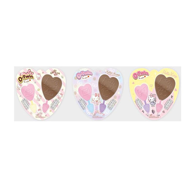 โอทวินซานริโอ้ รสช็อกโกแลตและสตรอว์เบอร์รี่ 20 กรัม คละลาย (แพ็ก 6 ชิ้น)